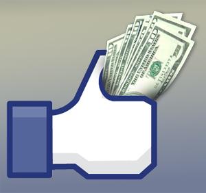 Facebook graph search money.